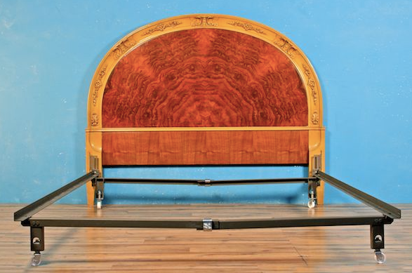 French Nouveau full size bed