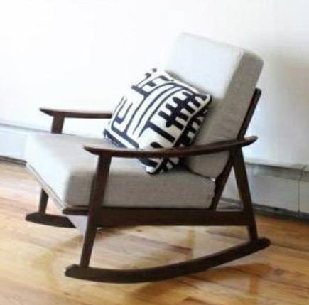 MCM rocking chair - $1150 (LIC)