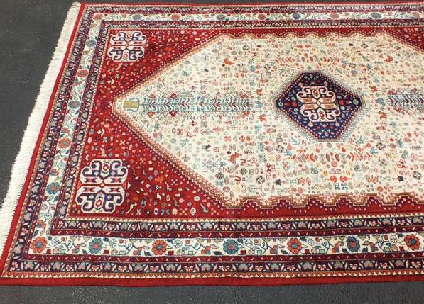 Vintage Persian handmade rug