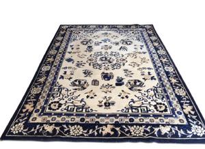 Ethan Allen Chinese medallion rug