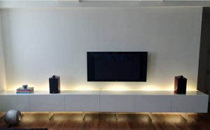 Acerbis sideboard and lighting system