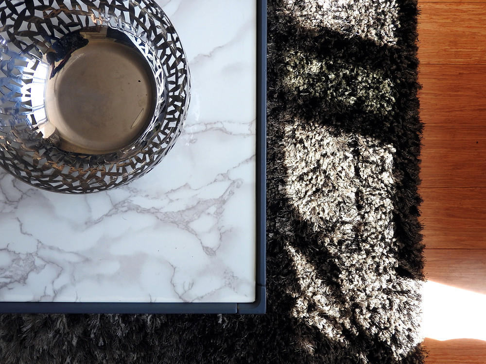 MARBLE CONTACT PAPER DIY