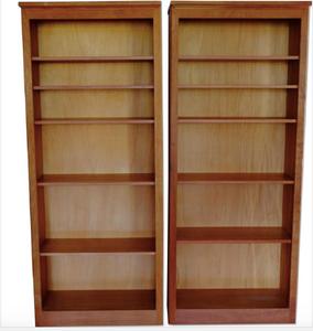 Crate & Barrel bookcase set