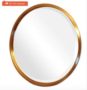 Bloomingdale's round mirror