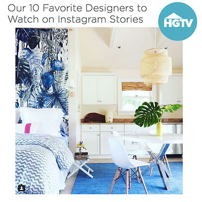 NATASHA HABERMANN INERIORS FEATURED ON HGTV