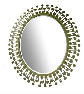 Bohemian sunburst mirror