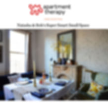 NATASHA HABERMANN STUDIO FEATURED ON APARTMENT THERAPY