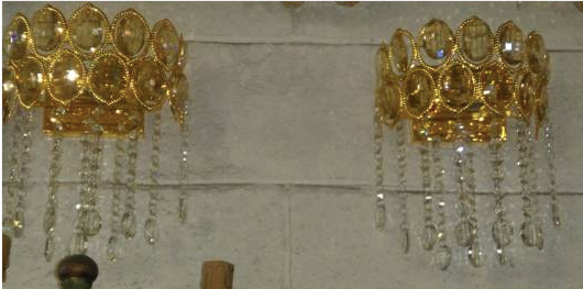Set of two wall sconce