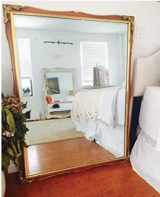 "Beautiful Victorian mirror (52"" X 40"")"