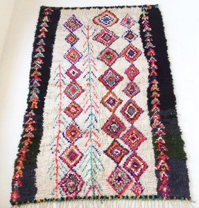 Multi color Moroccan rug