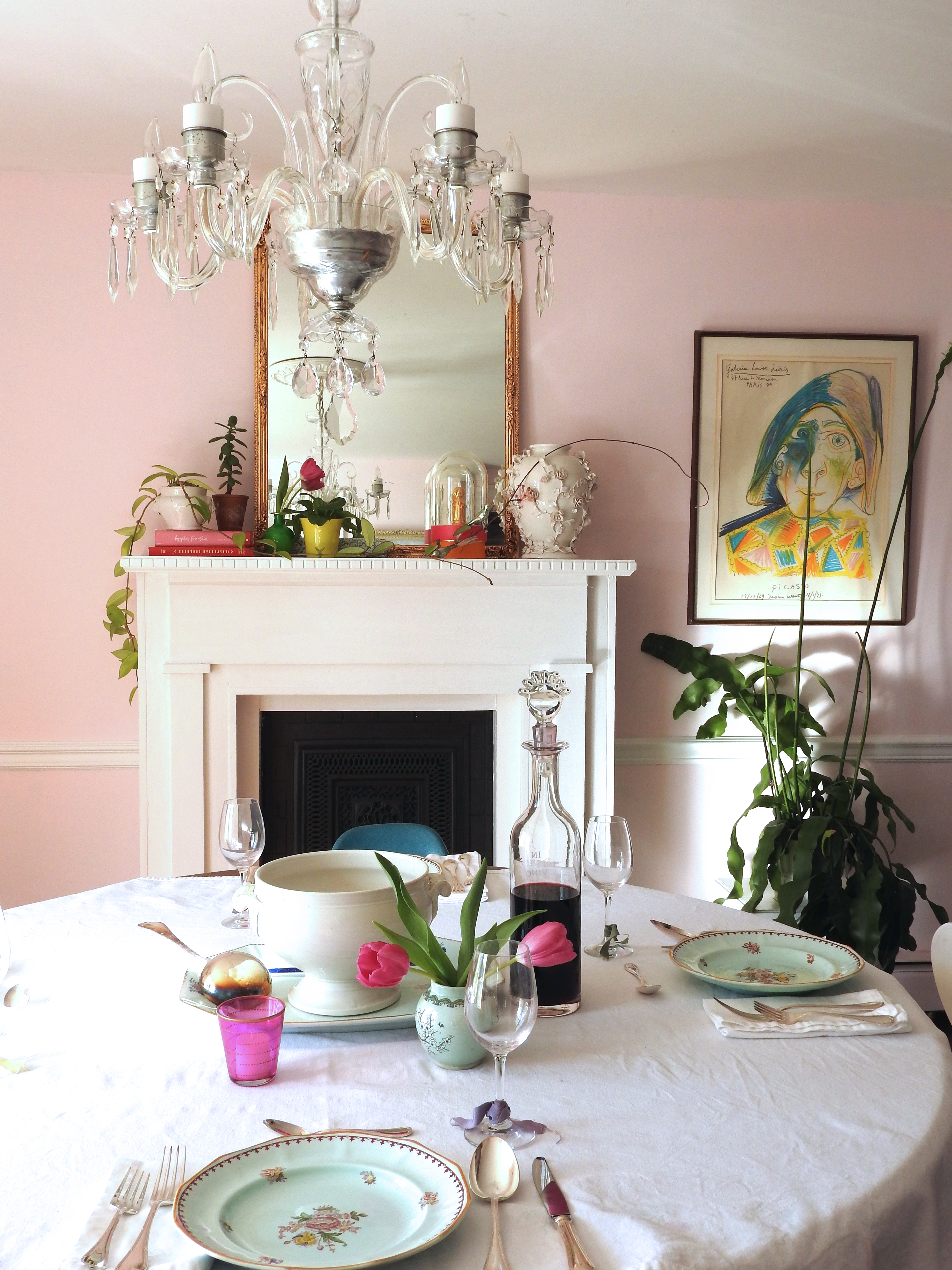 middleton pink by farrow and ball