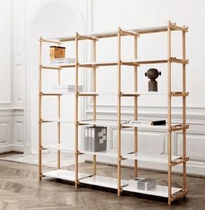 Danish modern display shelf
