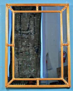 Hollywood regency gold mirror