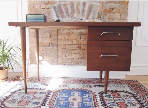 MCM vintage desk