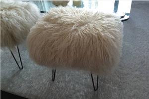 Mongolian fur benches