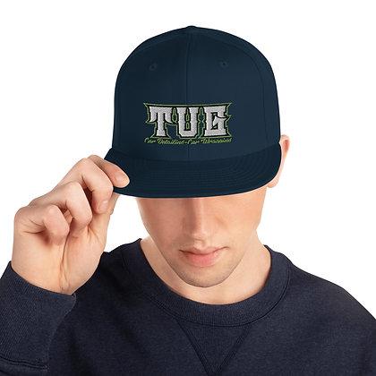 Snapback Hat tug logo