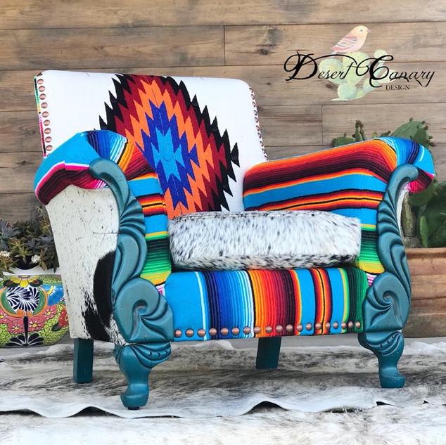 Turq Serape Chair.jpg