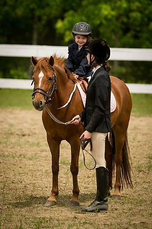 Audrianna & Stella (Welsh Pony), Image by ©Schooner Hill Photography