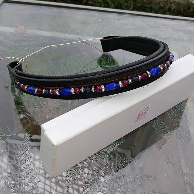 Custom Beaded Browband