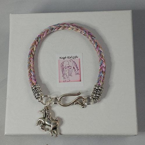 horse hair bracelet/ unicorn bracelet