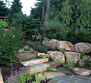 Landscaping hardscaping