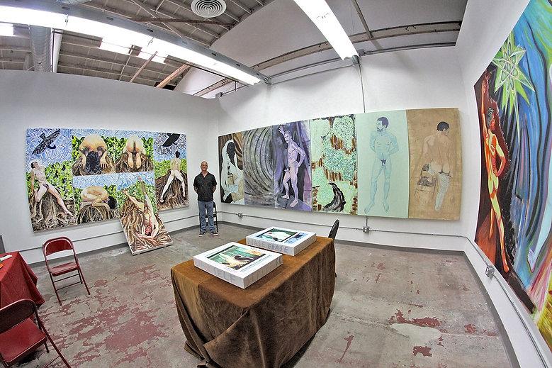 Open Studio Los Angeles,  May 2014        Photo:  Eric Minh Swenson