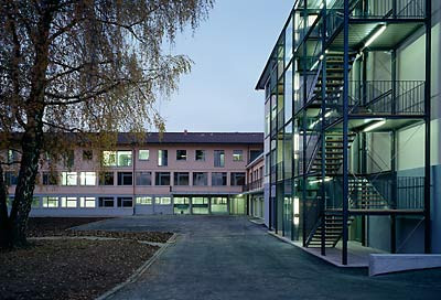 Administrative building, Münsingen