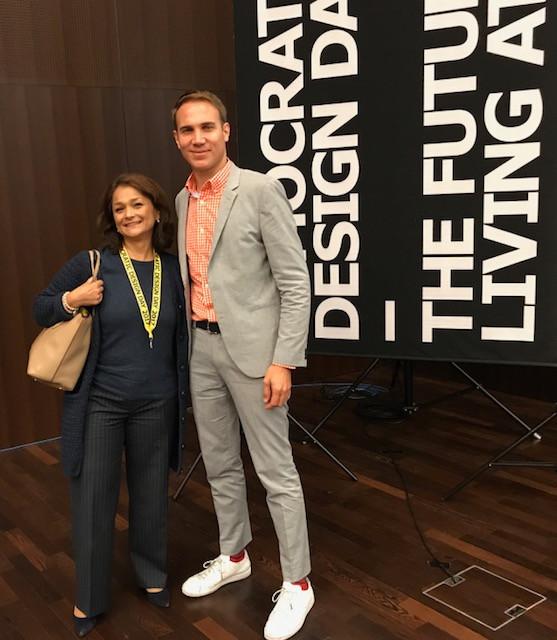 Alexis Georgacopoulos, Directeur de l'Escale et Samira Marquis, Fondatrice et CEO de makers id