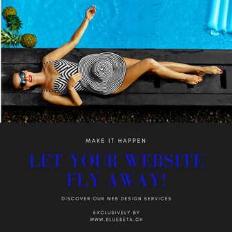 Let your website fly away !