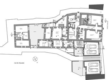 Complexe de bâtiments classés, Bedano