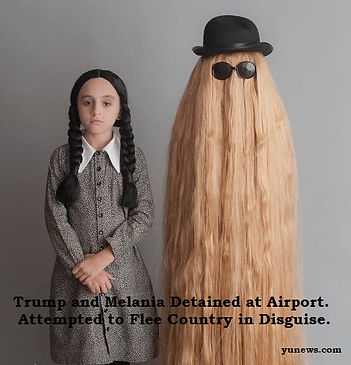 Trump and Melania in Disguise -.jpg