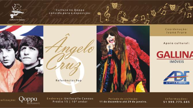 Cultura no Qoppa: Ângelo Cruz