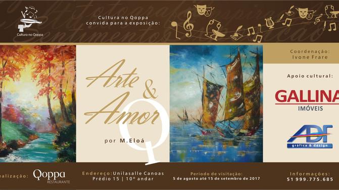 Cultura no Qoppa - Exposição Arte & Amor