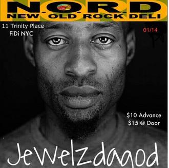 Jewelzdagod/Africanemcee performing live @ N.O.R.D