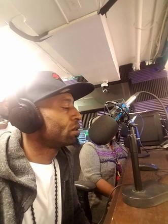 Africanemcee live @ Unseen Legion Radio 01/02/18