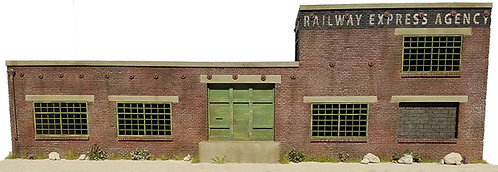 HO Scale - Railway Express Agency Background Flat Kit