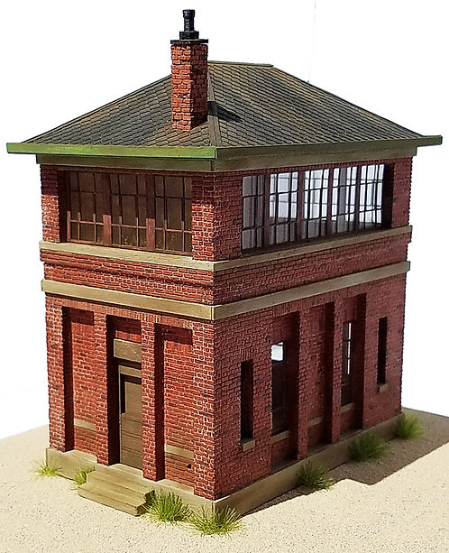 HO Scale - Brick Yard Tower