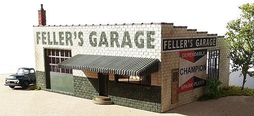 HO Scale - Feller's Garage Kit