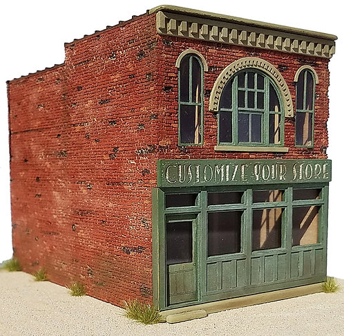 HO Scale - Two Story Storefront Starter Kit