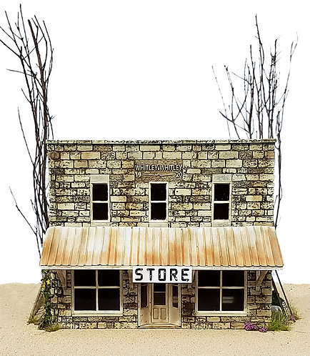 S Scale - Placerville Store Kit