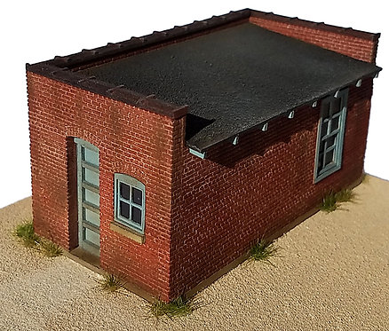 HO Scale - Brick Engineers Tools Shed