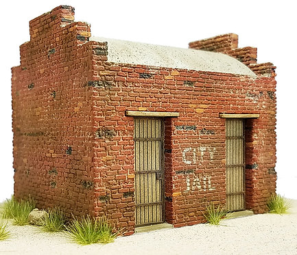 HO Scale - Brick City Jail Kit