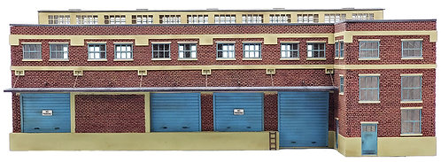 HO Scale - The Brick Freight House Kit