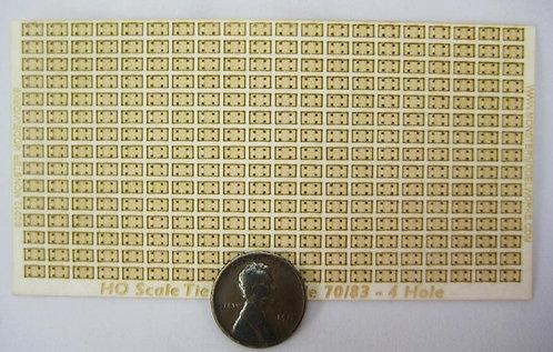 HO Scale - Tie Plate Code 70/83 4 Hole