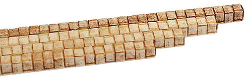 S Scale - 1/8 Concrete Block Corners