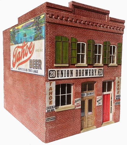HO Scale - Union Brewery Kit