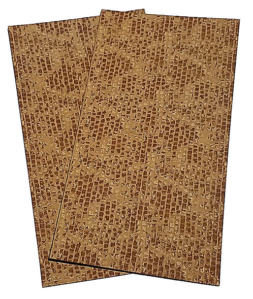 HO Scale - Old Cobblestone Sheets (2 pack)