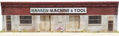 HO Scale - Hansen Machine & Tool Background Kit