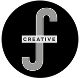 RJFCreative Logo - Solid Square, With Cr