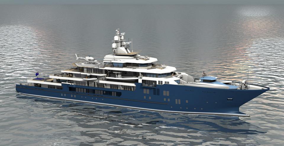 HVAC system yacht
